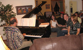 Joe Lazorik on Piano - In-Home Entertainment